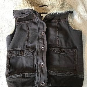 Maurices brown vest